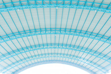 watertight: metal roof with steel structure