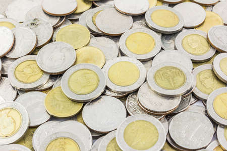 pile of money coins photo