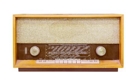 transistor: aislado radio de la vendimia