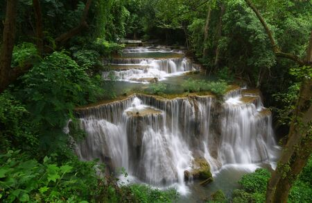 Huay Mae Khamin, a big waterfall ,Thailand  photo