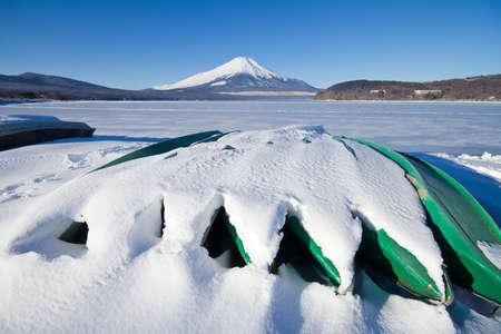 Mt Fuji from Yamanagoko