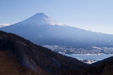 Mt Fuji in the afternoon time