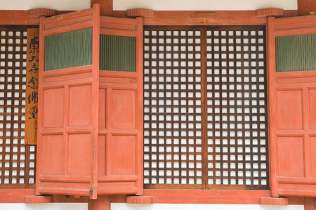 Window in Japanese style photo
