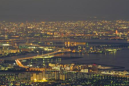 nishinomiya: Kobe town Stock Photo