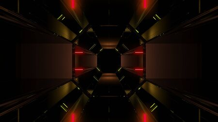 futuristic dark scifi background wallpaper background 3d render