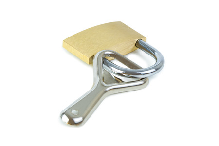 alcoholismo: Bottle opener locked to a padlock. Concept photo of drinking problem and alcoholism.