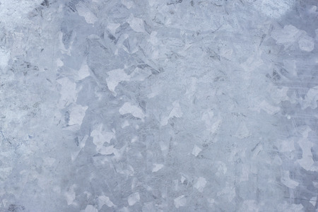 stainless steel sheet: Close-up of a galvanized gray zinc plate texture background Stock Photo