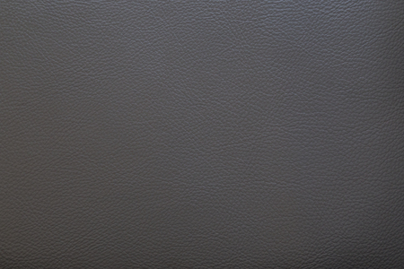 Surface of dark gray faux leather for textured background Stock Photo