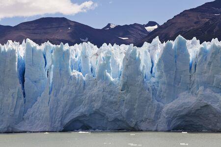 los glaciares: glaciar close-up, Argentina