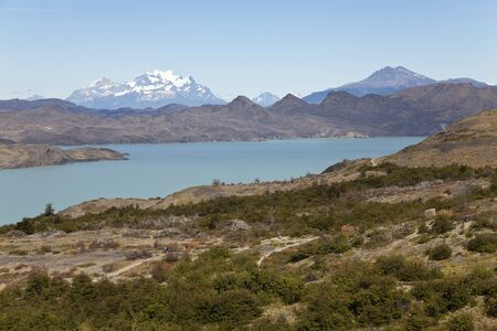 Beautiful landscape at Torres del Paine  Chile Stock Photo - 17360318