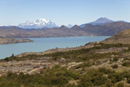 paine: Beautiful landscape at Torres del Paine  Chile