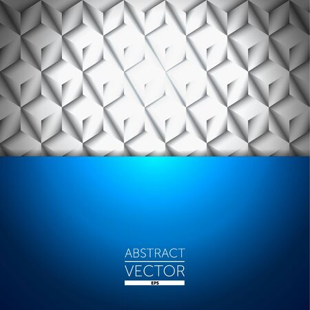 Abstract metal blue background Vector