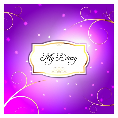Diary Vector Front