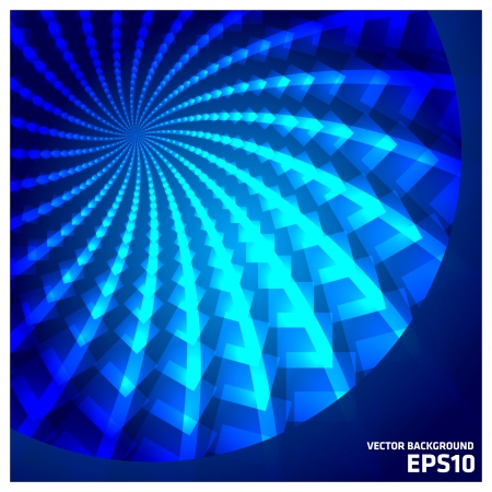 Blue Zoom Vector Background Stock Photo - 18262234