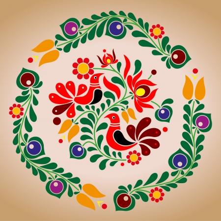 Hungarian Vector ornament
