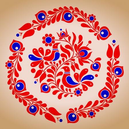macar: Macar halk vektör motifleri