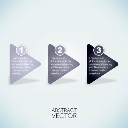 Abstract vector arrows photo