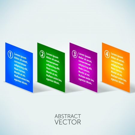 Abstract layers vector background  photo