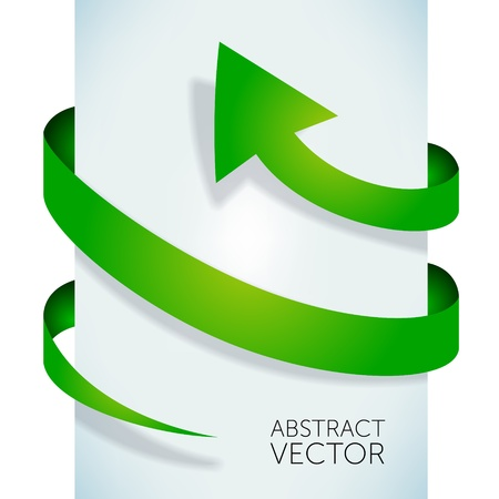Abstract vector arrow  photo