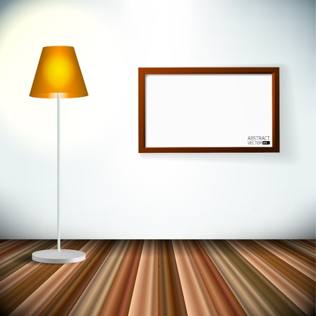 Empty  interior Illustration