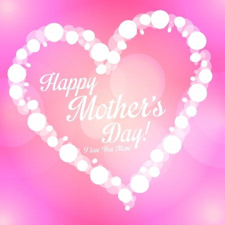 Happy Mother s Day background Vector