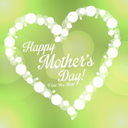 Happy Mother s Day background Illustration