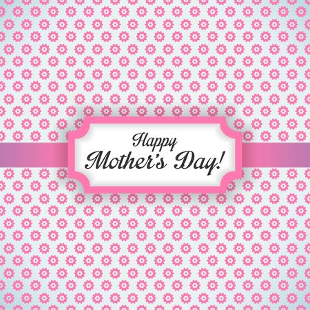 Happy Mother Day vector background