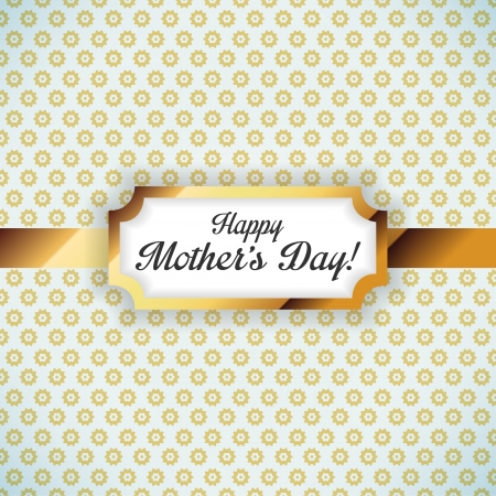 Happy Mother Day background Vector