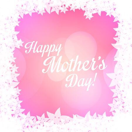 mothers day background: Happy Mothers Day background