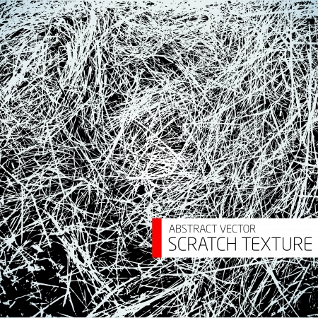 Abstract vector scratch texture