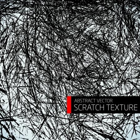 Abstract vector scratch texture