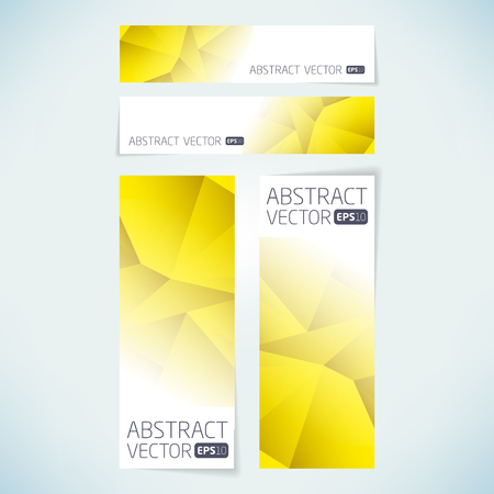 Abstract vector banner background