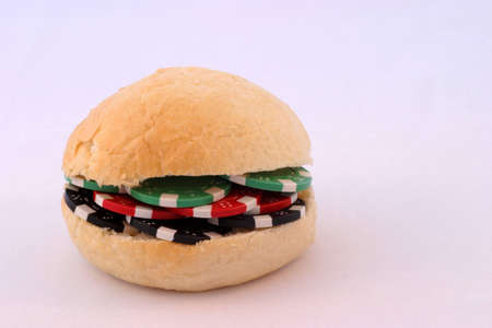 Poker Chip Burger photo
