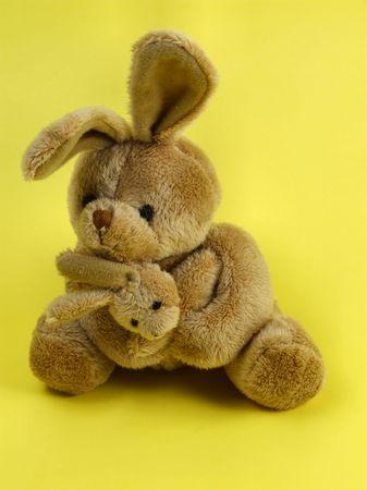 cuddly: Bunny rabbit cuddly toy