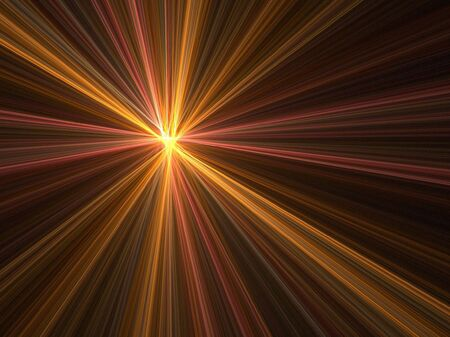 Abstract fractal background. Computer generated graphics. Speed motion light blur. Stock Photo - 999487