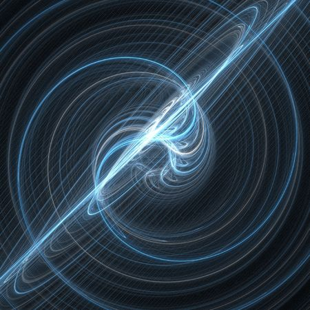 Abstract fractal background. Computer generated graphics. Supernova explosion. Stock Photo - 1052625