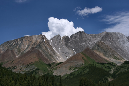 provincial: Canadian Rockies - Kananaskis Country Provincial Park. Photo taken from beautiful Highwood Trail.