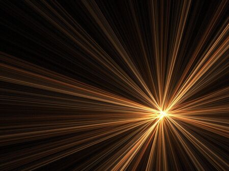 Abstract fractal background. Computer generated graphics. Light and hope. Stock Photo - 1816008