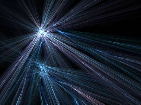 Abstract fractal background. Computer generated graphics. Motion blur lines 3D. Stock Photo - 2248802