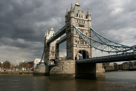 London - Tower Bridge. Famous landmark across Thames River. Stock Photo - 2993613