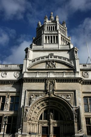 London, England - Victoria and Albert Museum entrance photo