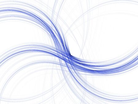 mild: Abstract fractal background. Computer generated graphics. Blue mild waves.