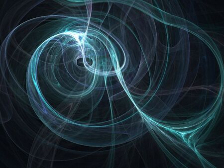 lightness: Abstract fractal background. Computer generated graphics. Green blur. Stock Photo