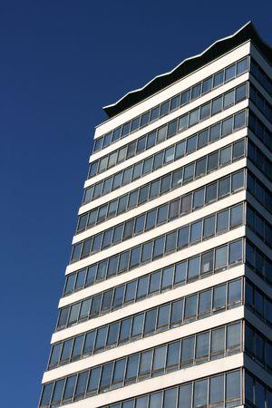 highriser: Tallest building in Dublin - Liberty Hall skyscraper. Stock Photo