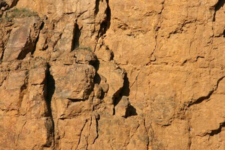 gory: Ex cava di dolostone (dolomite rock) in Bobrowniki, Tarnowskie Gory, Polonia