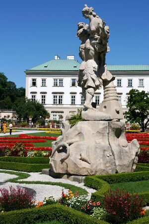 Mirabell Palace and its beautiful garden in Salzburg, Austria Stock Photo - 3563849
