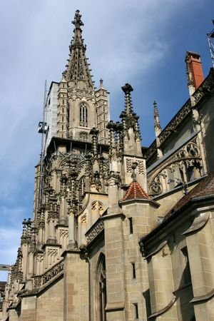 berner: The Muenster of Berne (German: Berner Muenster) is the Gothic cathedral (or minster) in the old city of Berne, Switzerland