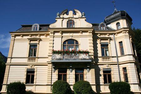 Old beautiful villa in Bad Reichenhall, Bavaria, Germany Stock Photo - 3658477