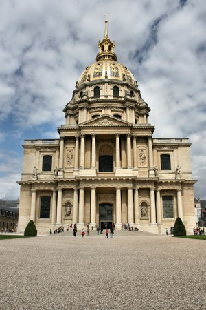 Palace des Invalides in Paris, France. Famous landmark. Stock Photo - 4013941