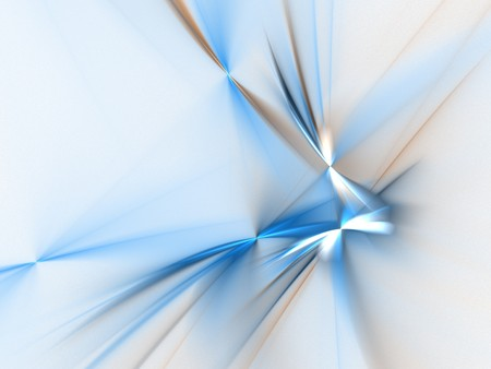 lightness: Graphics texture. Computer rendered background. 3D fractal. Blue abstract against white.